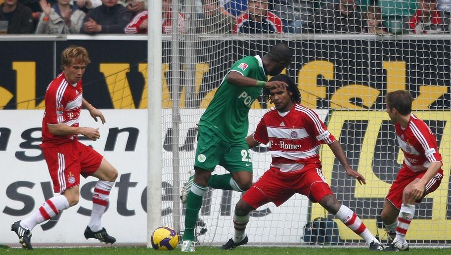Resultado de imagem para wolfsburg 5-1 bayern munich 2009