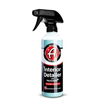 Adam's Microban Antimicrobial Interior Car Cleaner