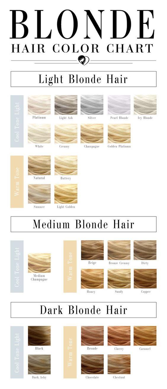 bảng màu nhuộm tóc