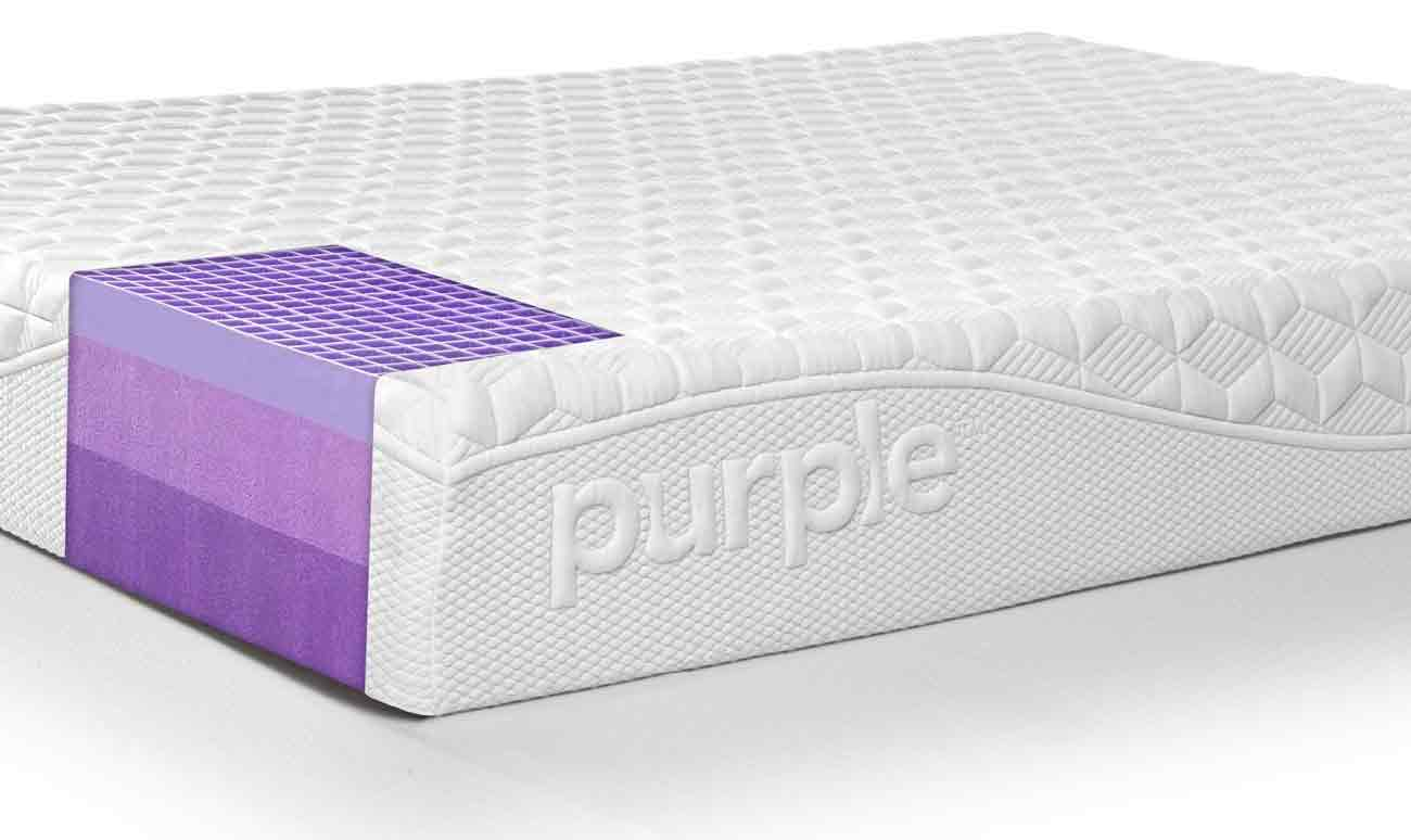 purple mattress interior