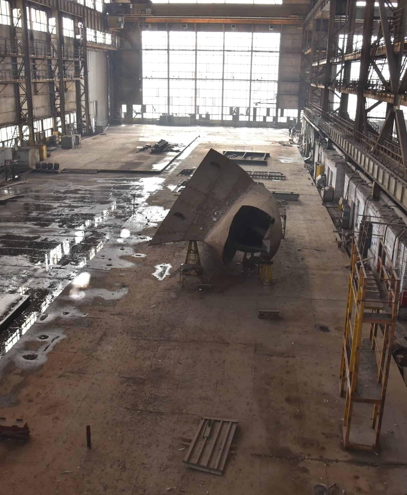 Корвет проекту 58250 в Миколаєві, фото Денис Казанський