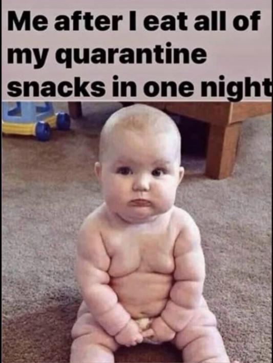 eating all snacks meme