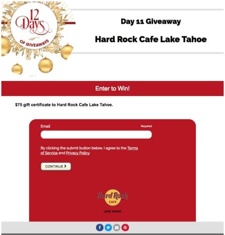 hard rock cafe target market