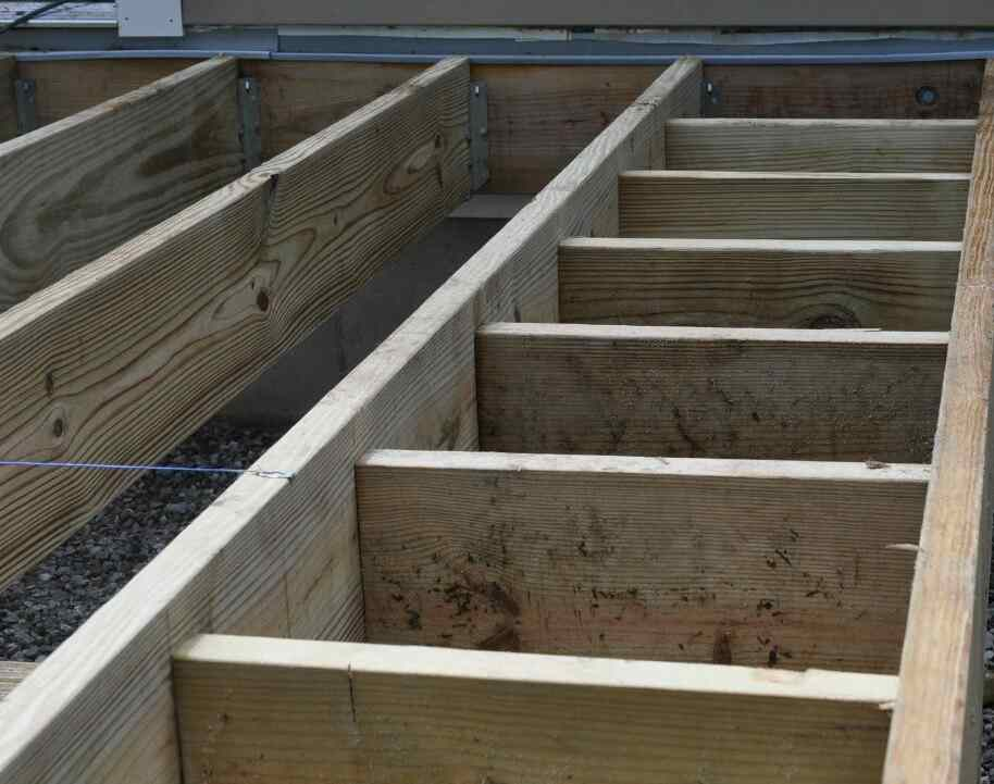 keep wooden joists from rotting