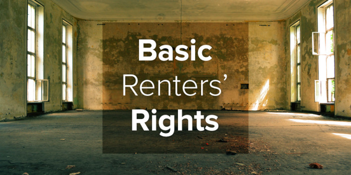 Basic Renters' Rights Image of Empty Room