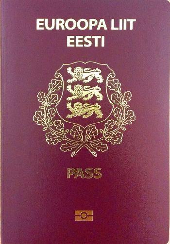 Passport of Estonian citizen