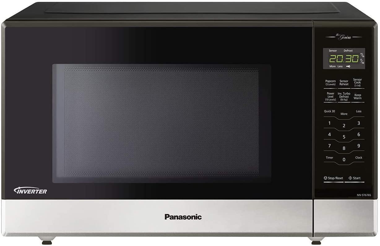 best microwave brands: Panasonic NNST676S Genius Mid-Size Microwave Oven