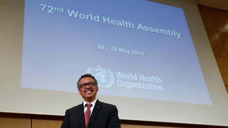 Transparency, migrant health wrap up 72nd World Health Assembly