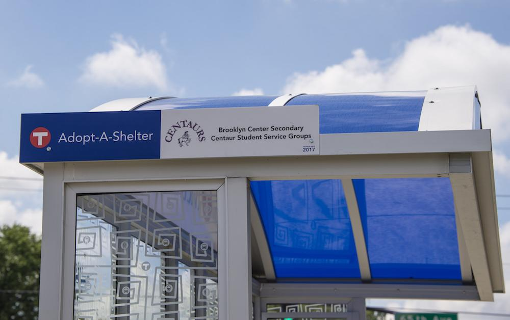 Adopt a shelter bus stop