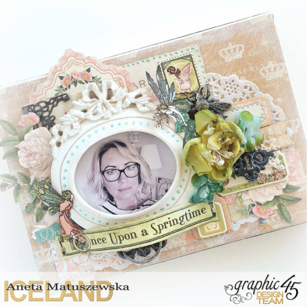 Once Upon a Springtime, Aneta Matuszewska, Graphic 45, Canvas, Frame, Shabby Chic, Butterfly.png