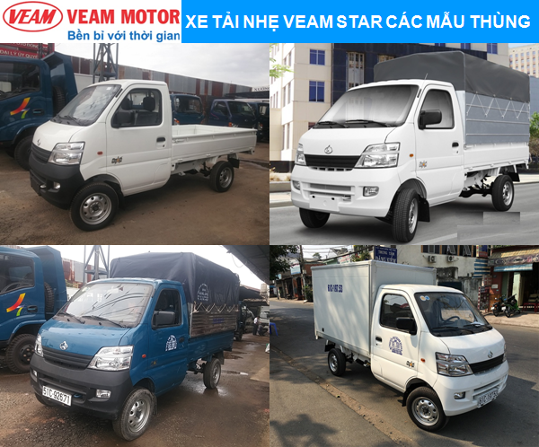 Xe tải nhẹ Veam Star các mẫu thùng.png