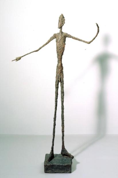 Alberto Giacometti (1901-1966)  Homme qui pointe (Pointing Man)