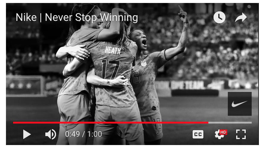 nike never stop winning
