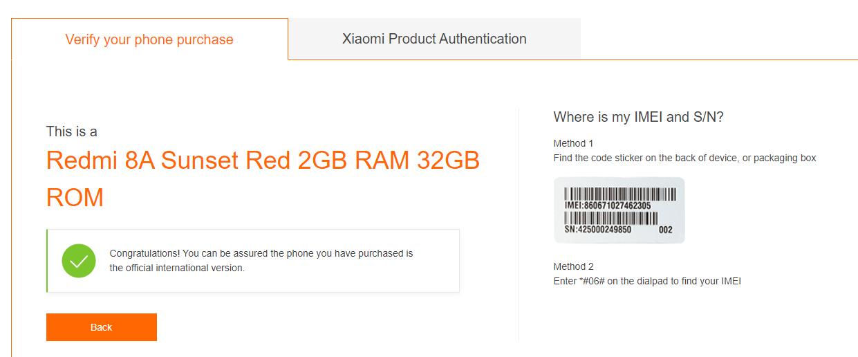 Xiaomi original o falso