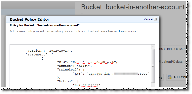 the bucket you are attempting to access must be addressed using the specified endpoint