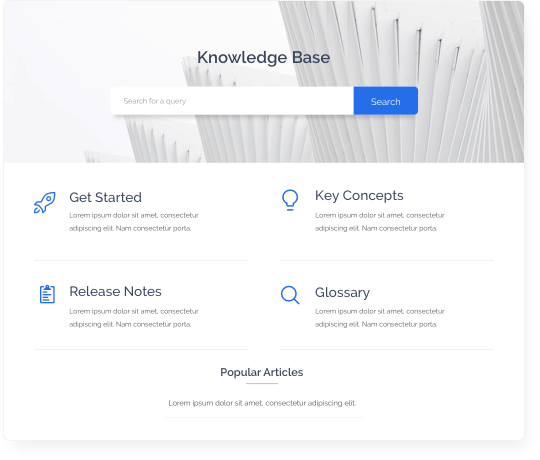 knowledge base is a fantastic addition to any helpdesk