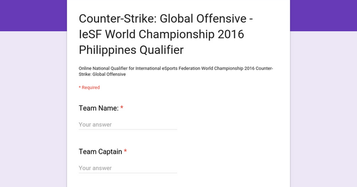 Counter-Strike: Global Offensive - IeSF World Championship 2016
