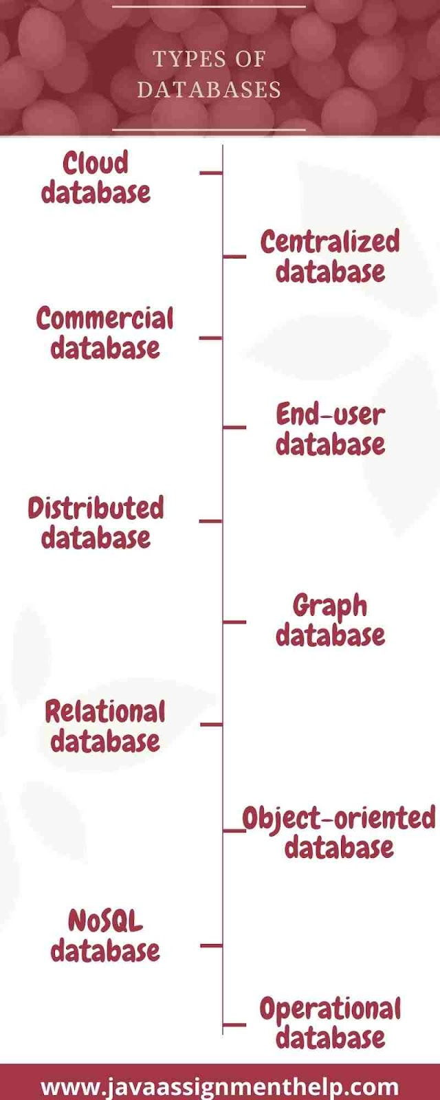 infographic types of databases