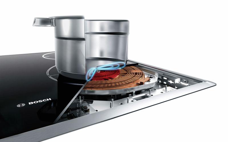 Công nghệ cảm ứng từ của bếp Bosch