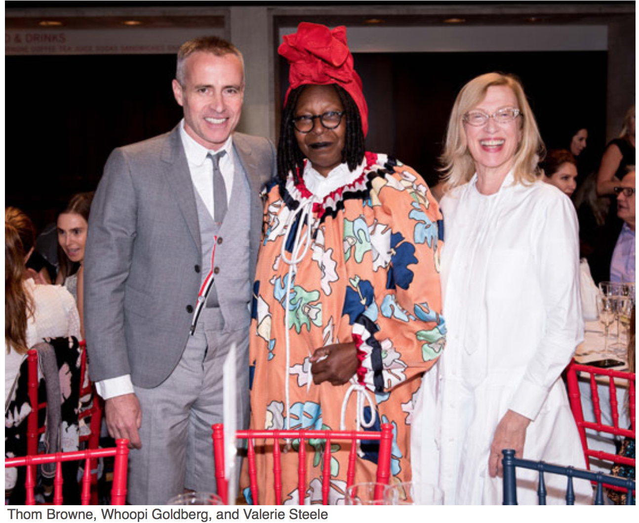 New York Fashion Week The kick-off to this week-long revelry of style and commerce is The Couture Council Luncheon and Award for the Artistry of Fashion.  Thom Browne, Whoopi goldberg, Valere Steele