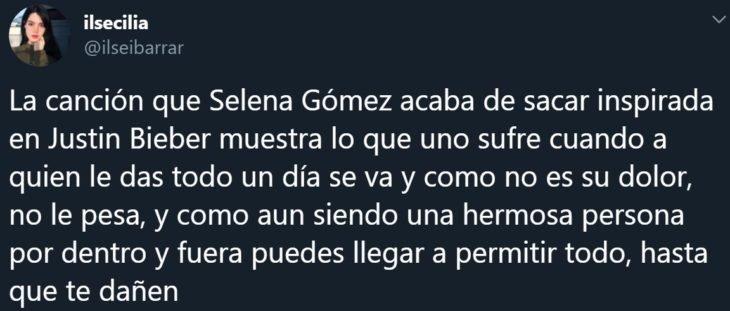 Lose you to love me de Selena Gomez para Justin Bieber se vuelve viral