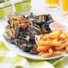 Billedresultat for moules frites