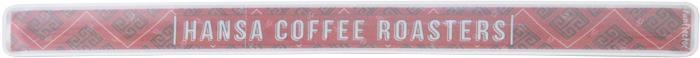 Werbe-Reflektor Schnapparmband  für Hansa Coffee von funflector bedruckt