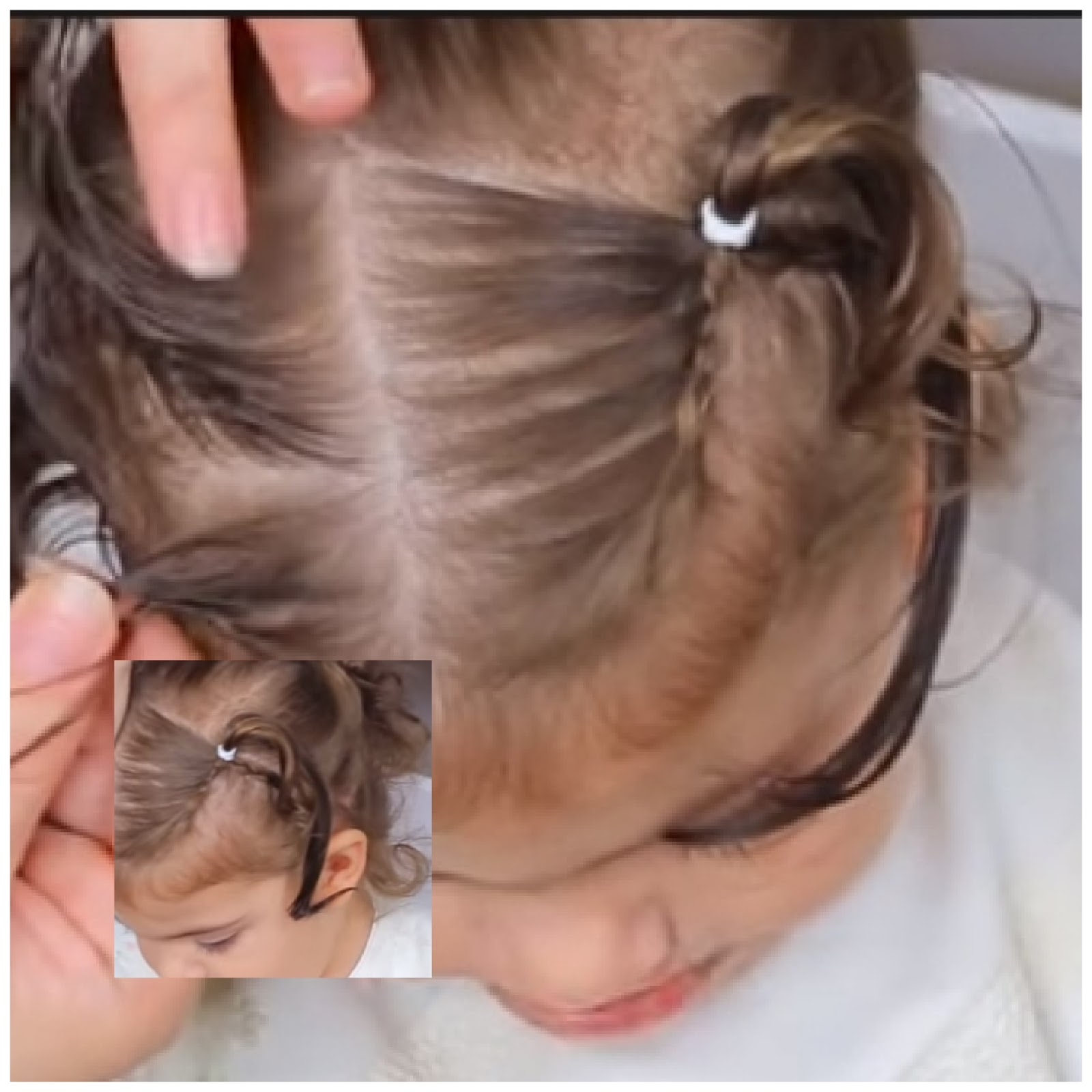 hairstyle for short hair baby girl