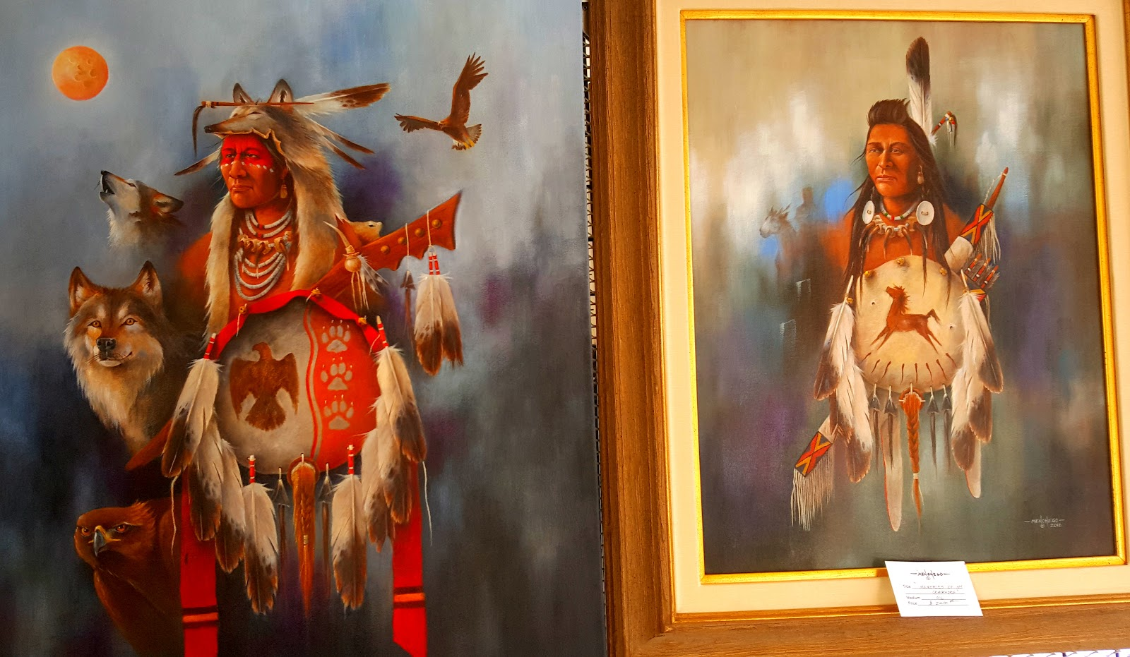 Arthur Menchego  (Santa Ana Pueblo) artistry - Photo: Harlan McKosato