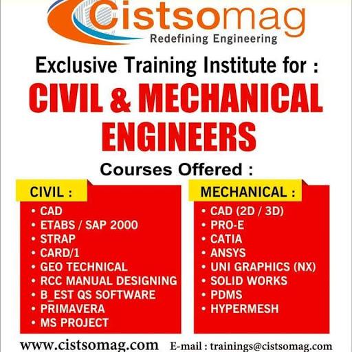 Civil Engineering Training Courses(STRAP, ETABS, CAD
