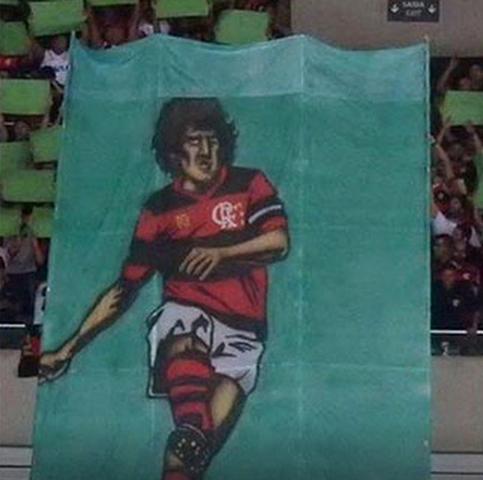 O mais horrível dos mosaicos do Flamengo