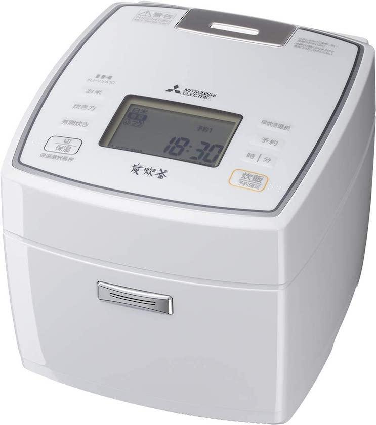 三菱電機 IH炊飯器 備長炭炭炊釜