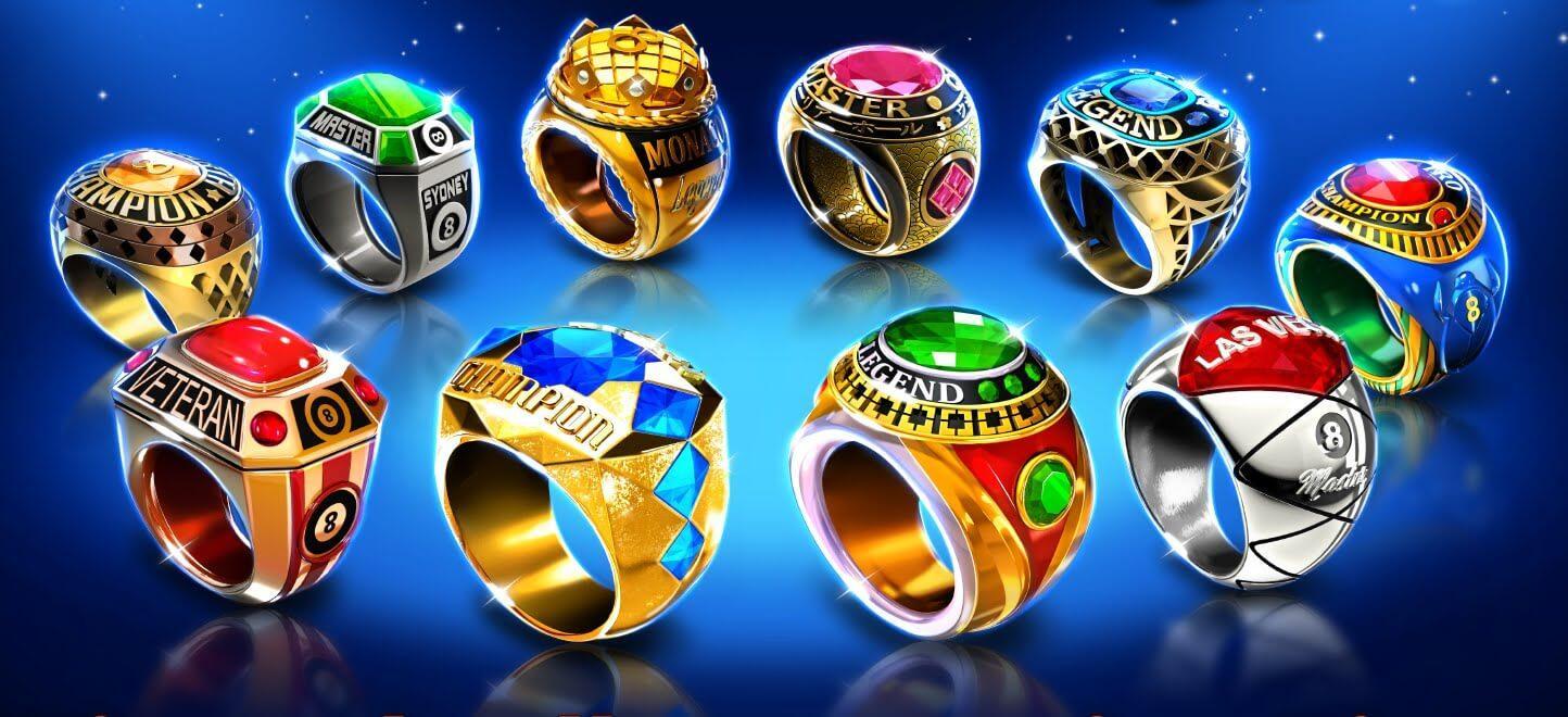 8 Ball Pool Billiard Trophies Ring Game Hacks
