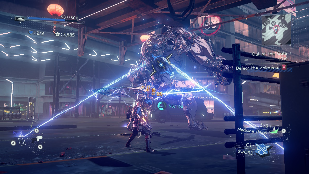 Astral Chain Review - Binding a Chimera