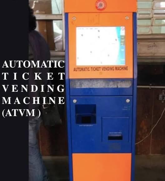 mumbai local ticket machine
