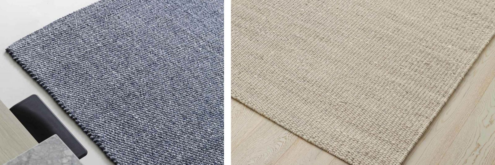 Natural Fibre Rugs Scandinavian Look
