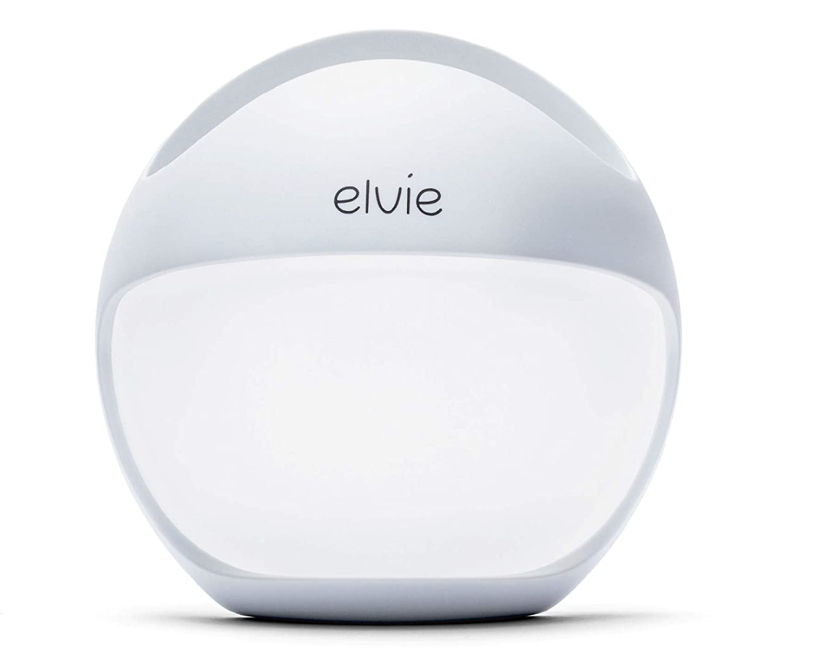 First week at home with baby - Elvie breast pump