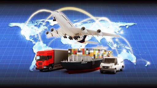 Nhóm dịch vụ vận tải với nhiều hình thức luân chuyển hàng hóa