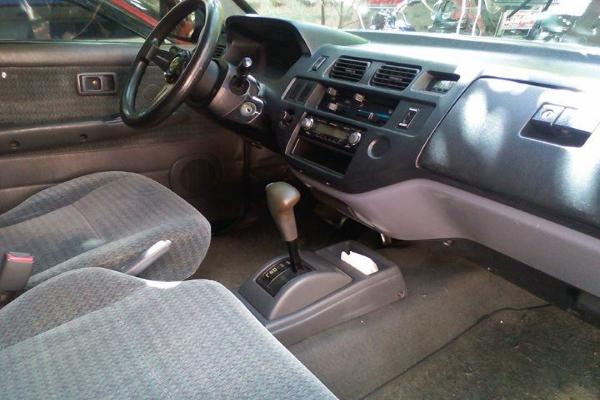 The Toyota Revo's interior design