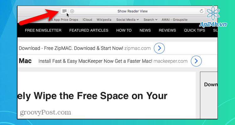 Chan quang cao Safari va Chrome tren Mac