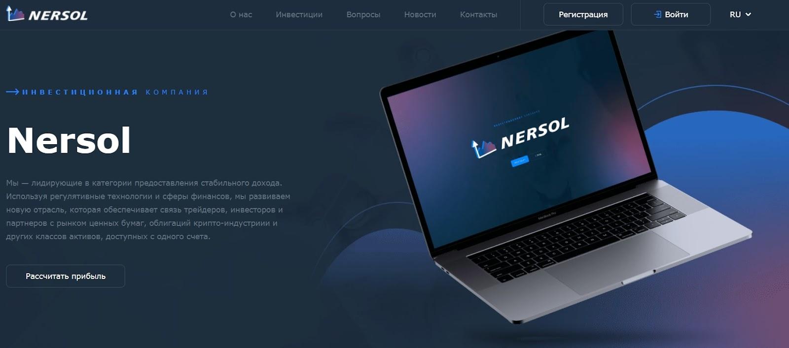 Стоит ли вкладывать деньги в Nersol: обзор инвестпроекта, отзывы