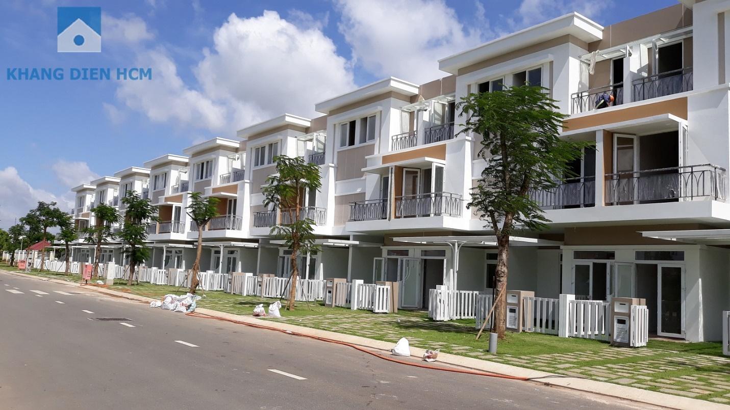 Tận hưởng cuộc sống thượng lưu tại các căn biệt thự của dự án Khang Điền quận 9