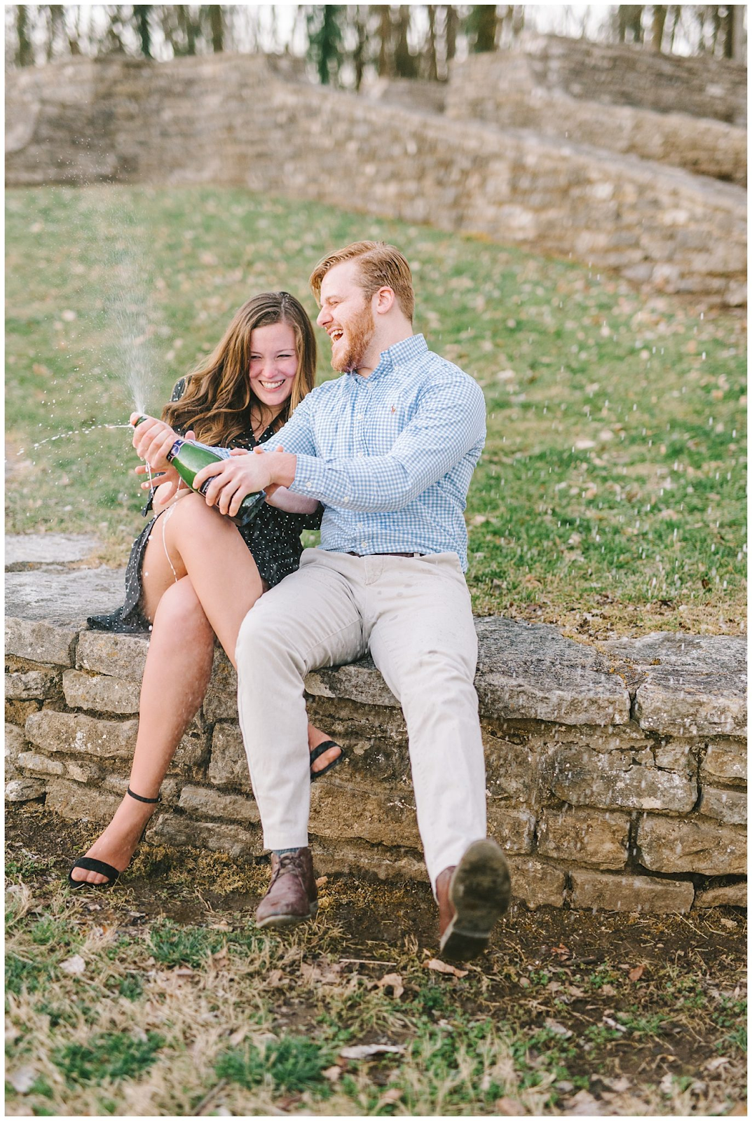 Percy Warner Stairs: The Best Nashville Engagement Session Locations from Kéra Photography featured on Nashville Bride Guide