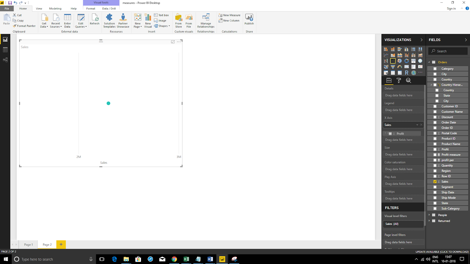 Scatter Plot Chart in Microsoft Power BI 30