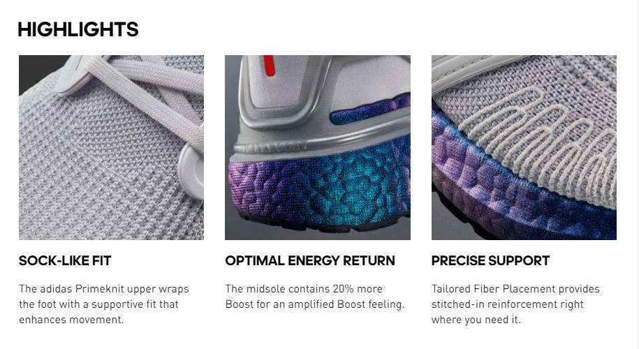 Adidas - Product Descriptions Sample
