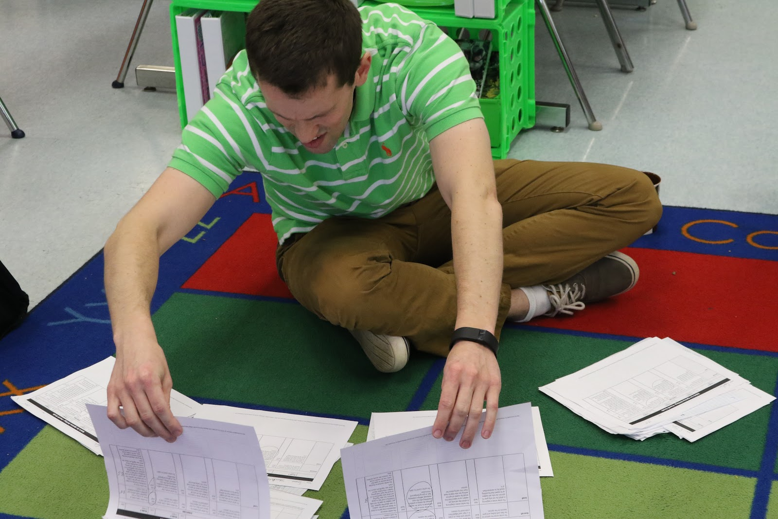 Ryan Proctor analyzing data