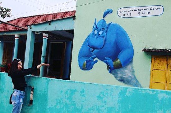 Tourist in Tam Thanh- Vietnam's Hidden Mural Village