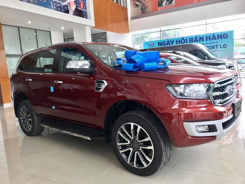 xe ford everest titanium 4WD