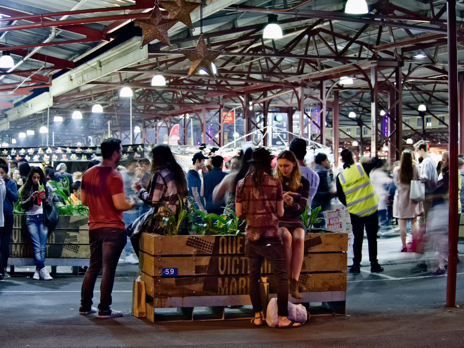 100 things to do in melbourne with kids winter night market queen vic market