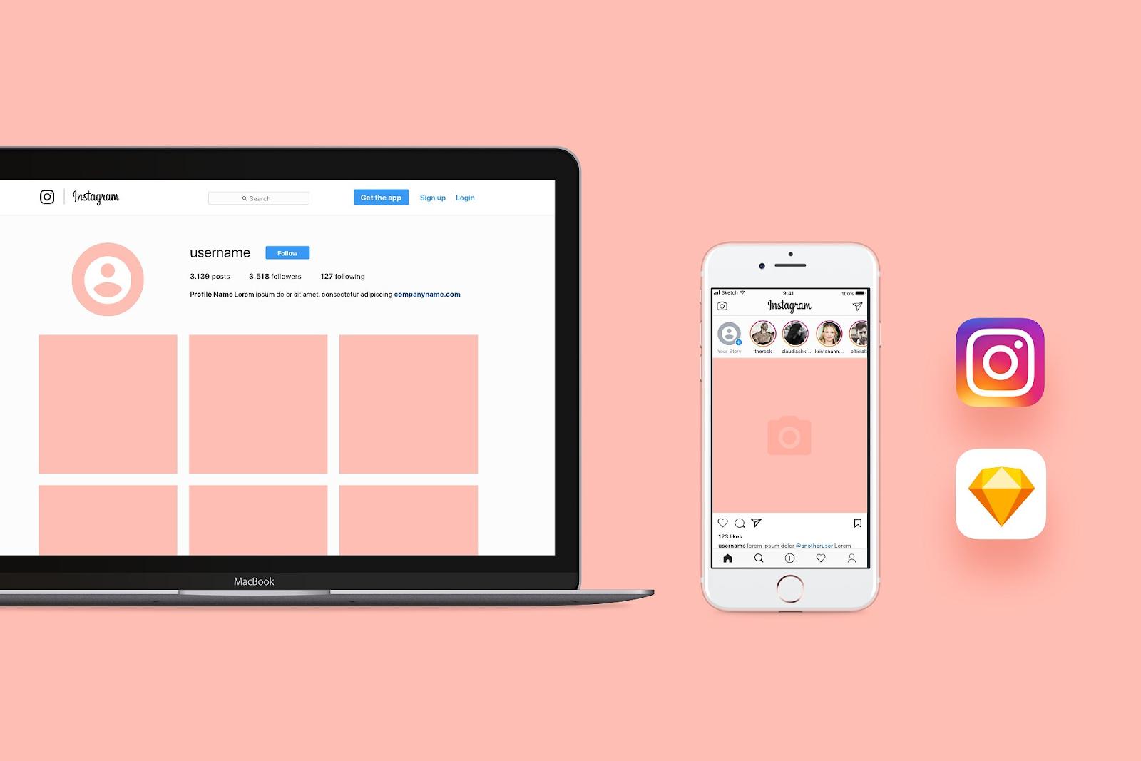 Shopify online store -Shopify instagram app